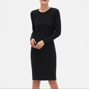 Banana Republic Textured Sweater Dress size M NWT